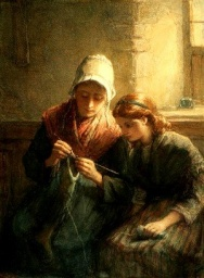 Knitting Lesson