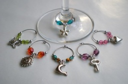 Wine Glass Charm II